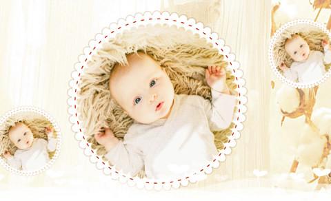 可爱萌娃,制作照片视频的软件