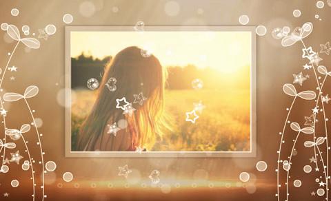 模糊绚丽相册,照片做成视频的软件